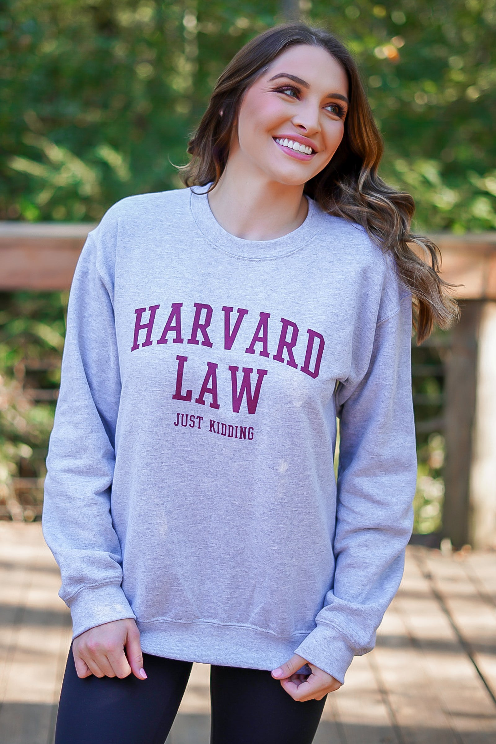 Harvard Law Sweatshirt - Grey