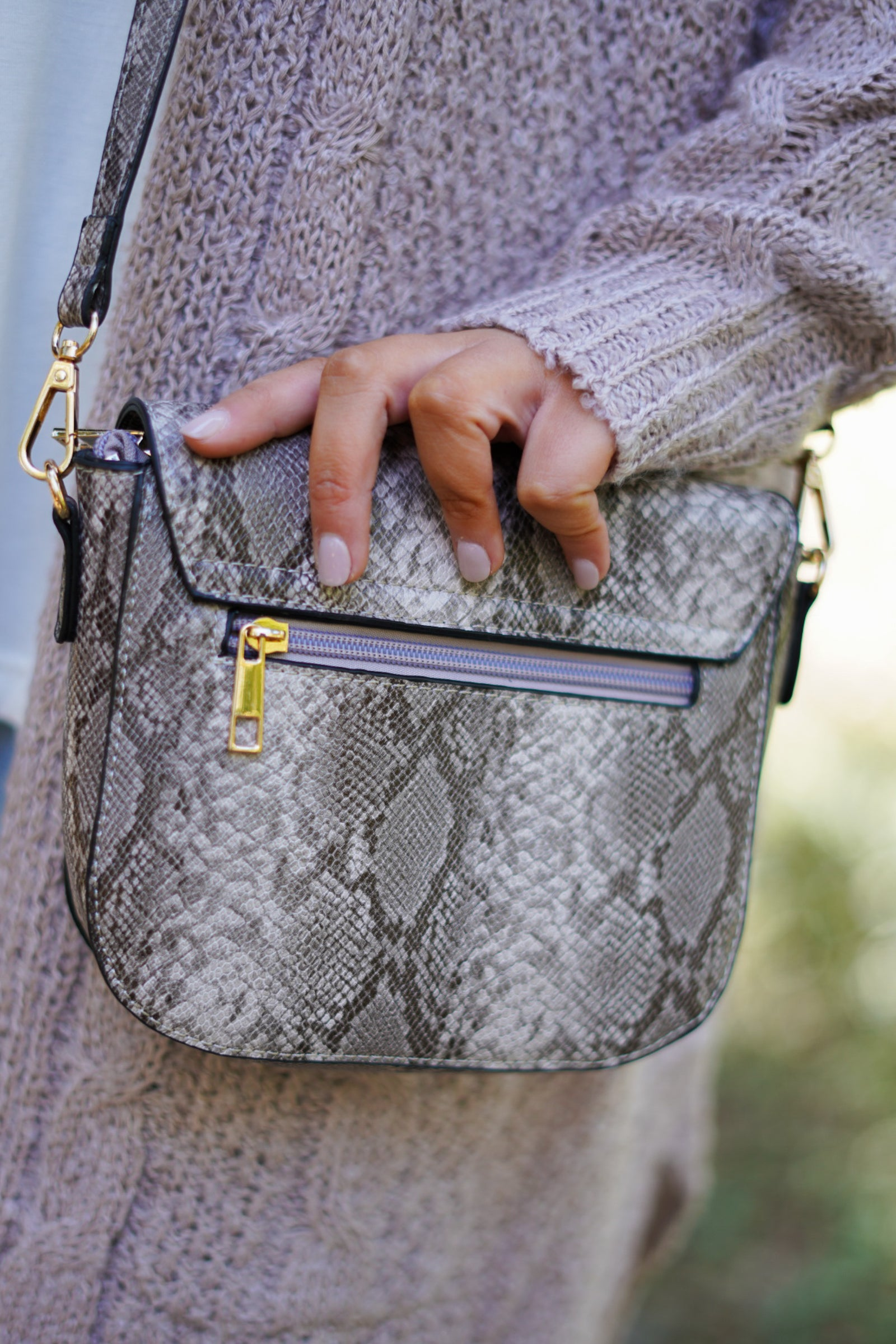 Mellow Snake Shoulder Bag