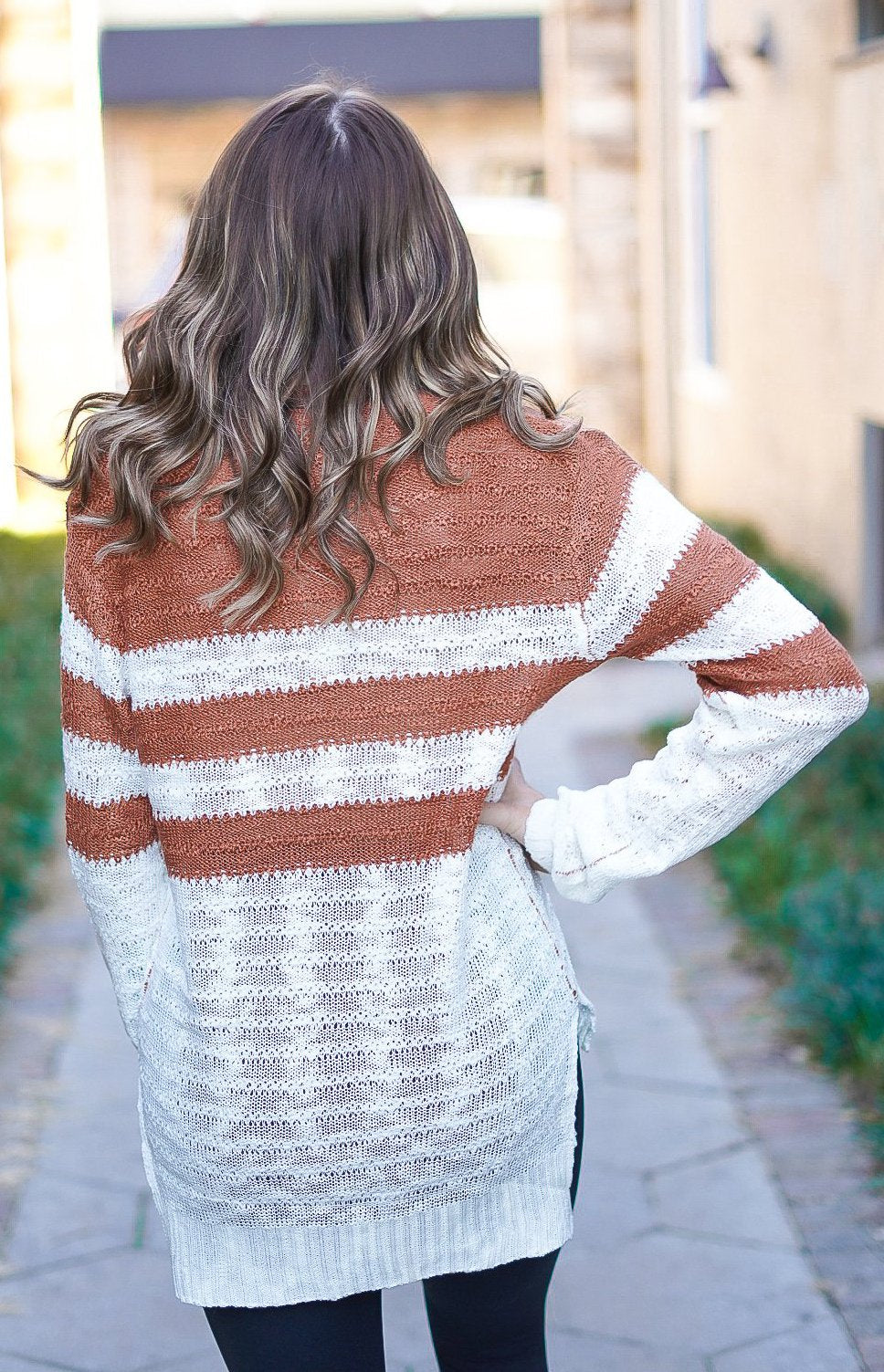 Chestnuts Roasting Open Knit Sweater