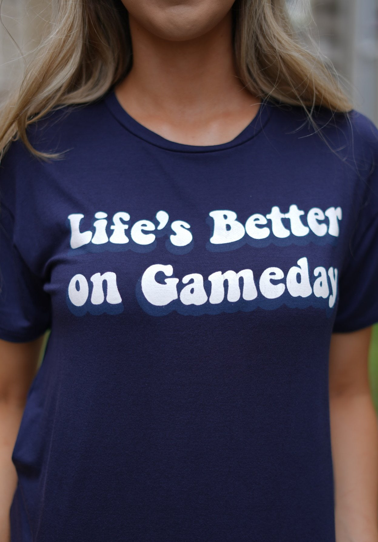 Life's Better On Gameday - Navy