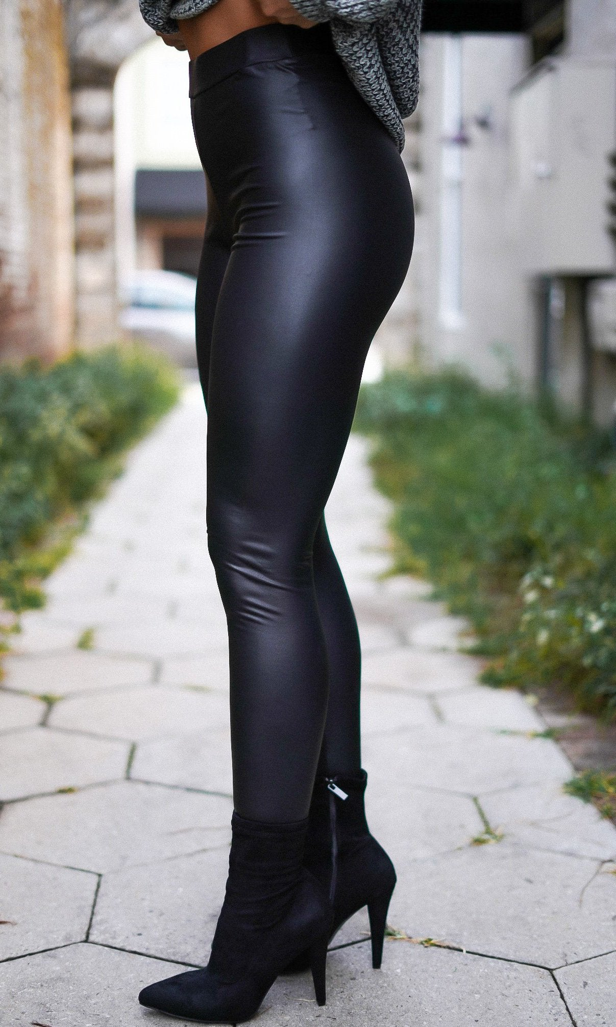 Down for the Ride Faux Leather Leggings
