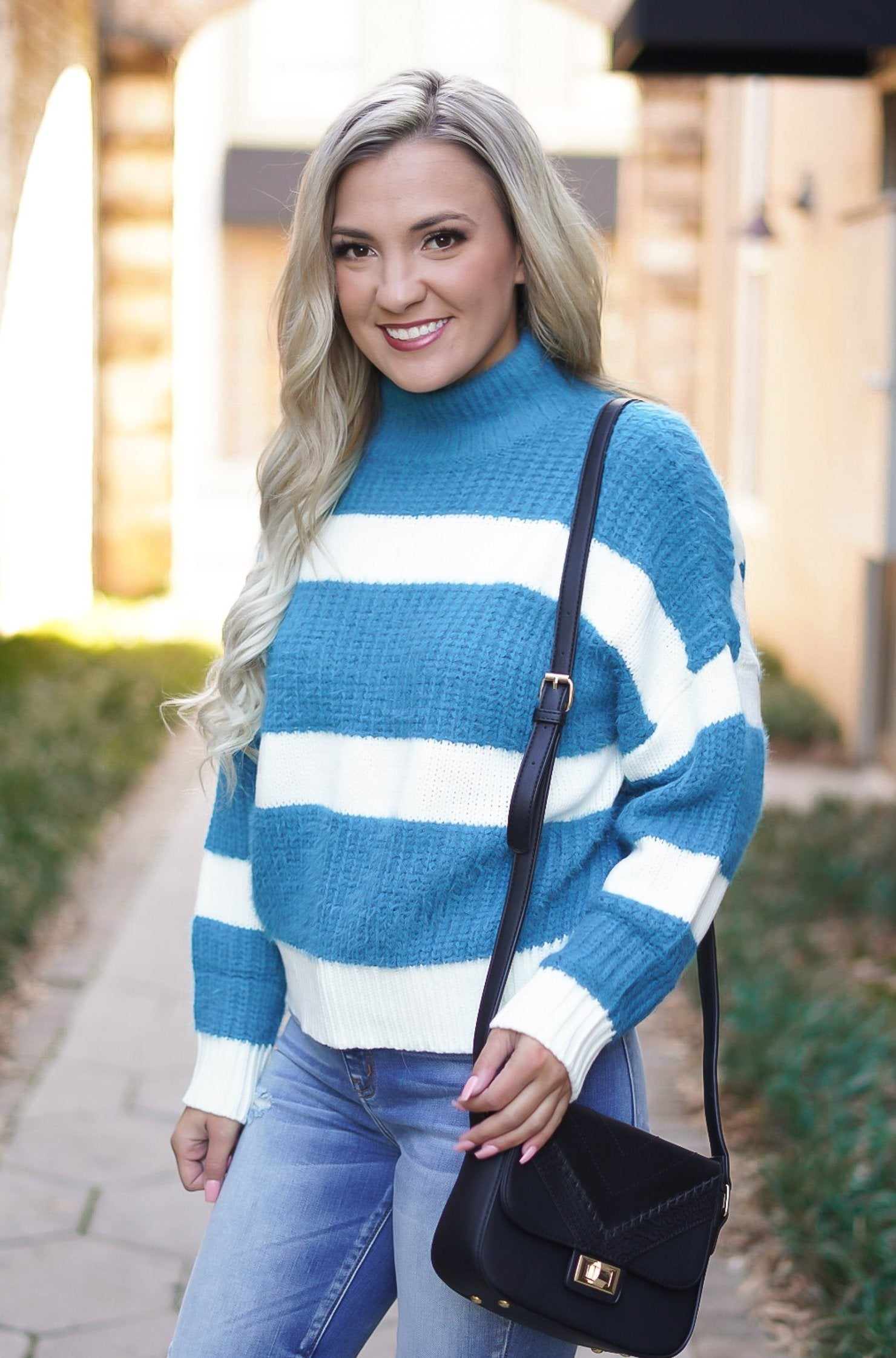 Stand By Me Striped Sweater