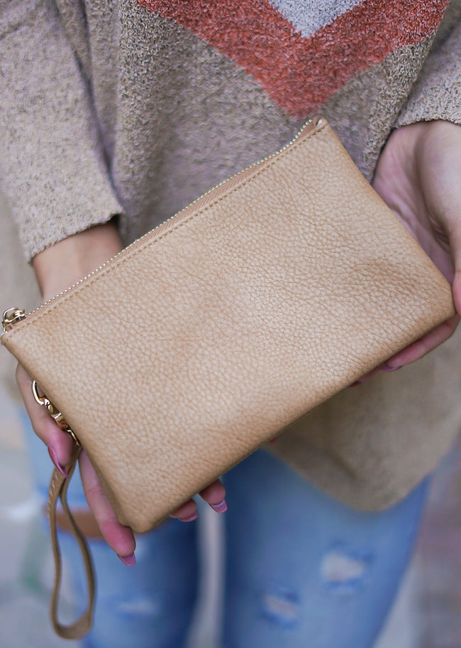 Liz Custom Collection Crossbody - Tan
