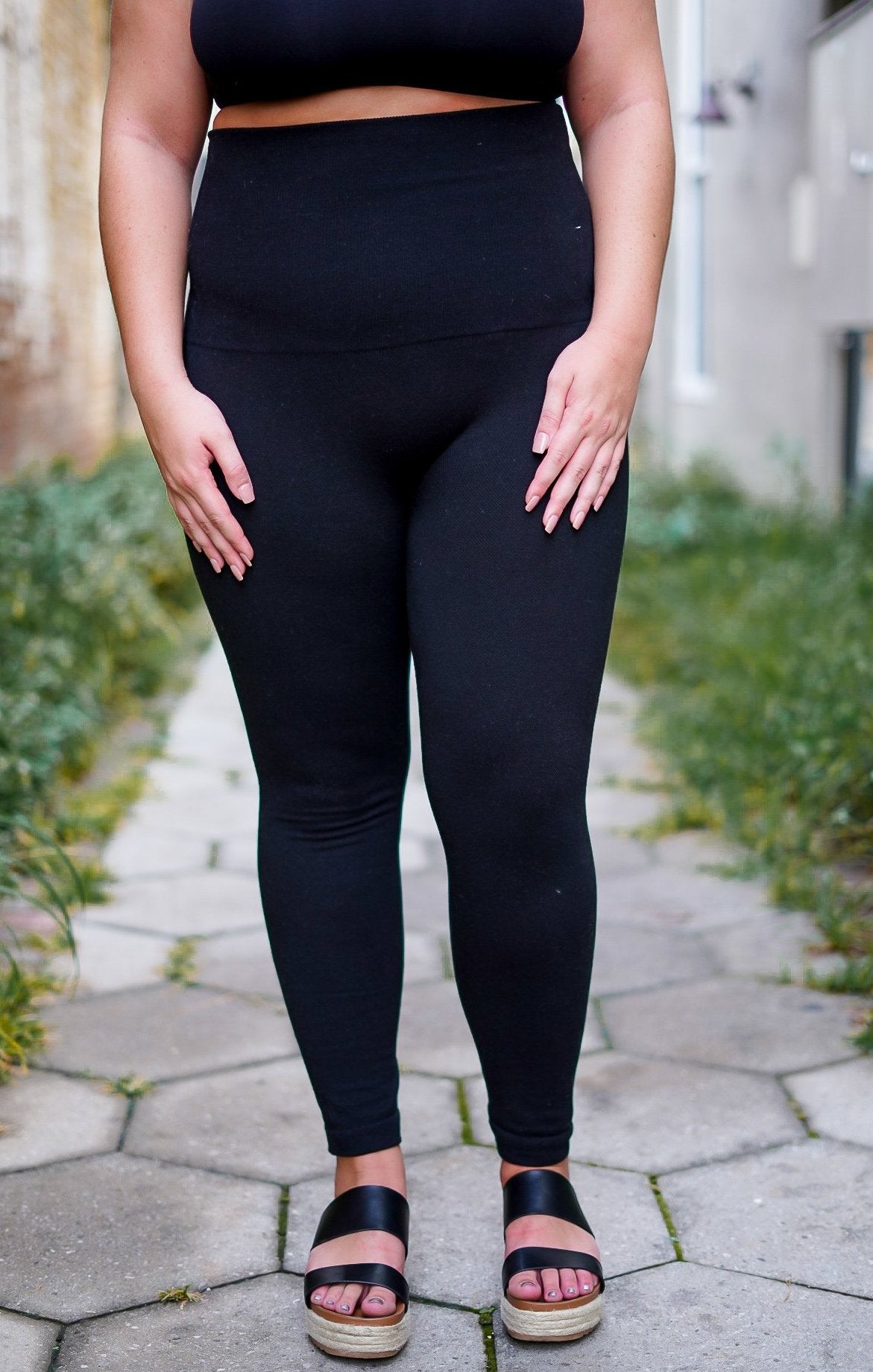 Curvy Compression Leggings