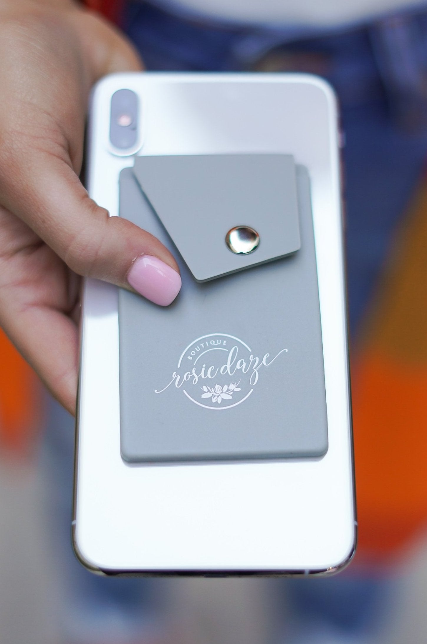 Logo Phone Card Holder