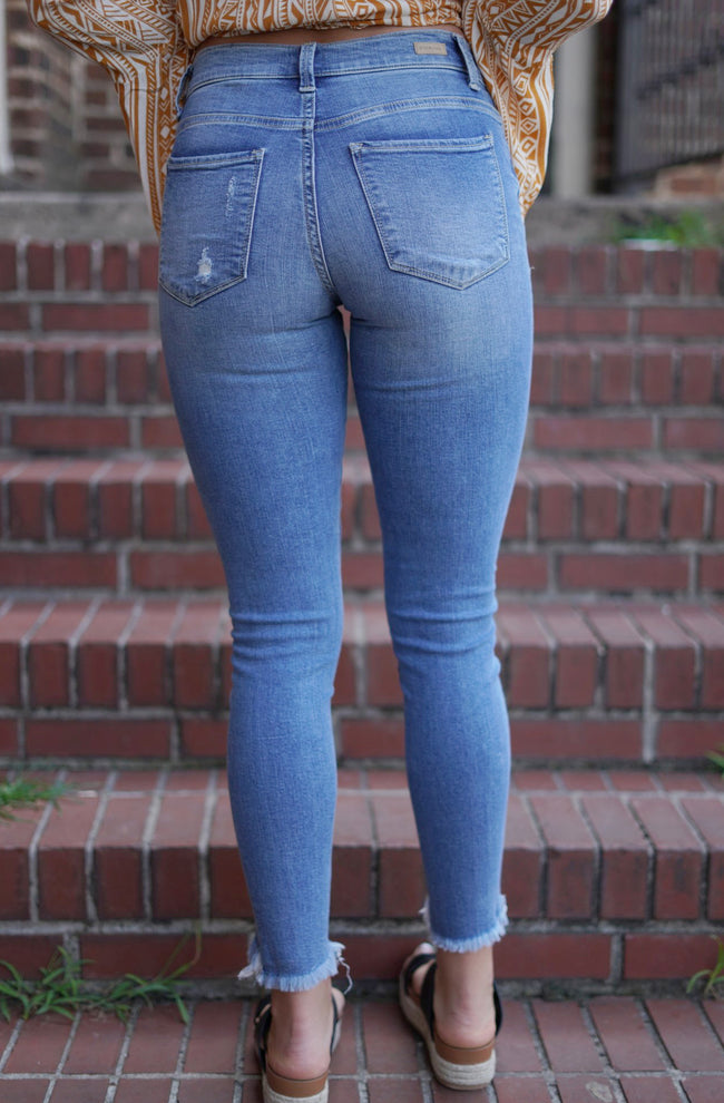 Addie Ankle Length Denim