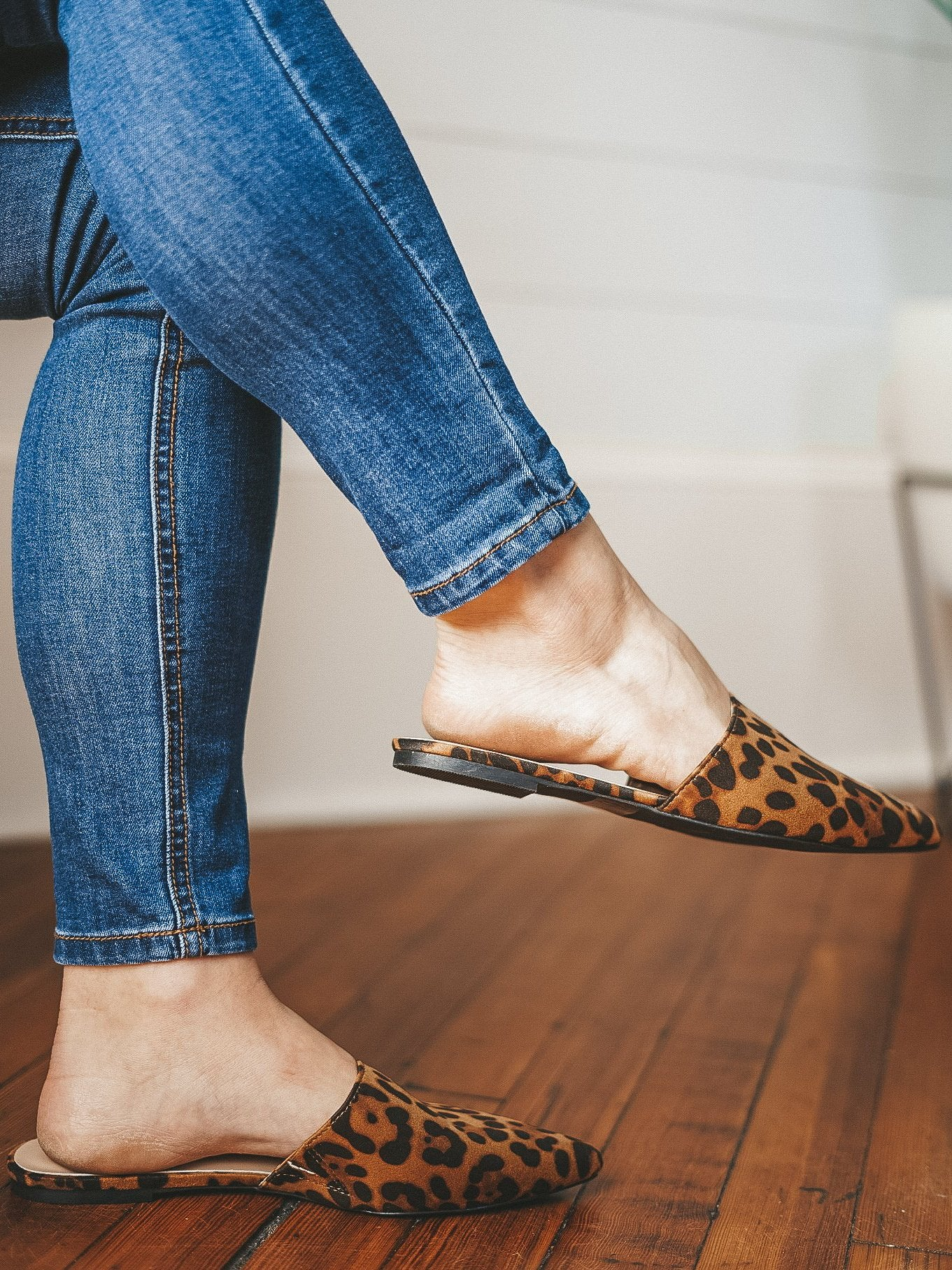 You're A Wild One Flats - Leopard
