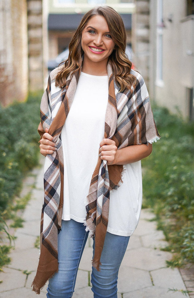 Espresso Yourself Blanket Scarf