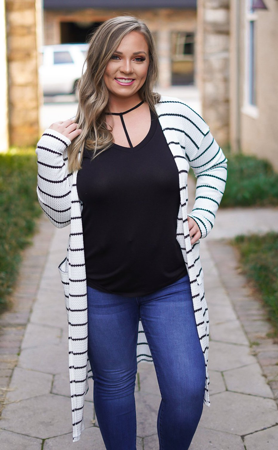 On the Edge Cardigan