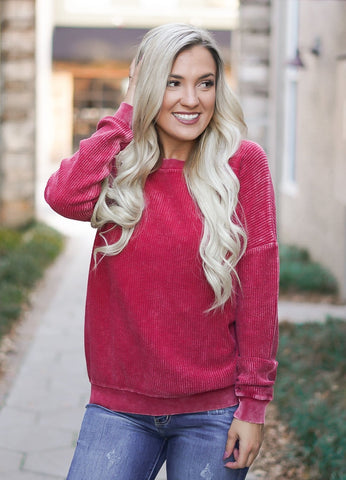 Cherry Crisp Sweater
