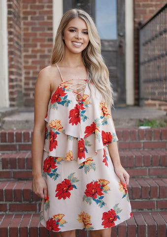 Florida Keys Tie Dye Dress