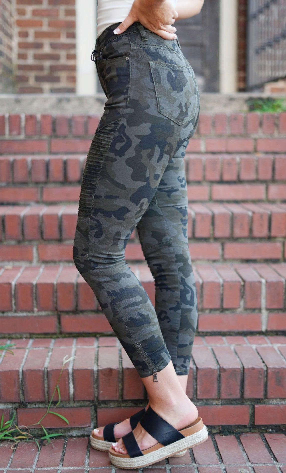Crazy for Camo Skinnies