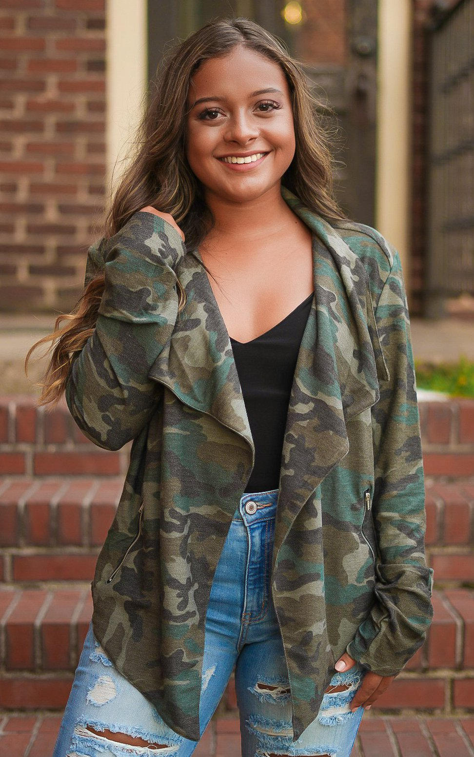 Its Only Love Camo Jacket