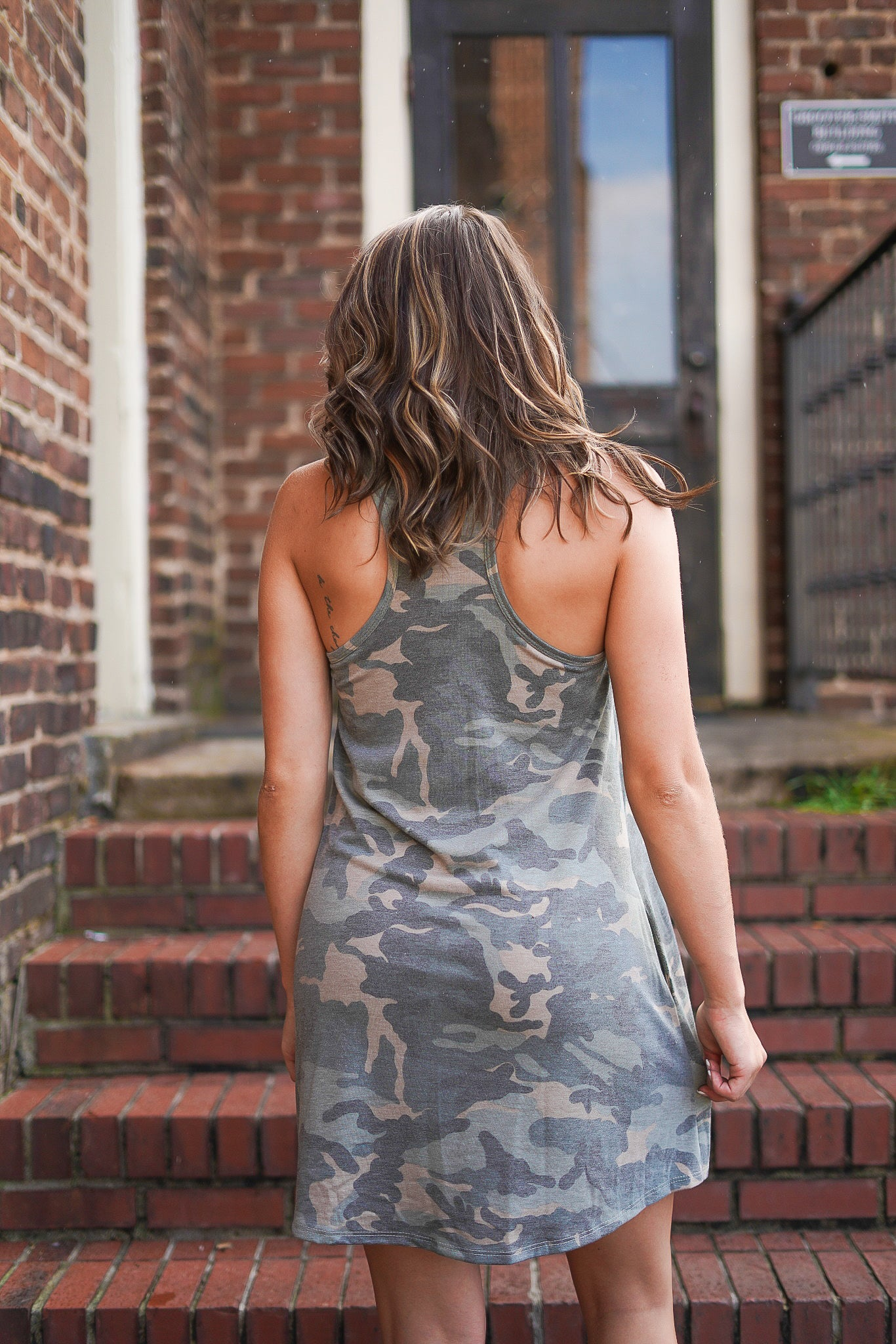 Casually Camo Dress