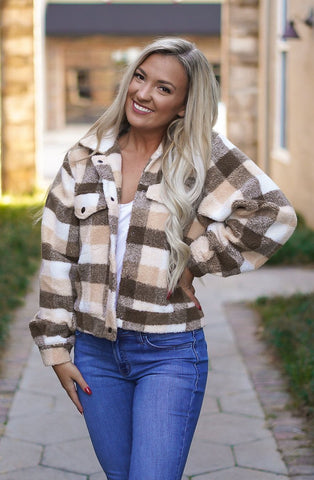 Hailey Herringbone Vest