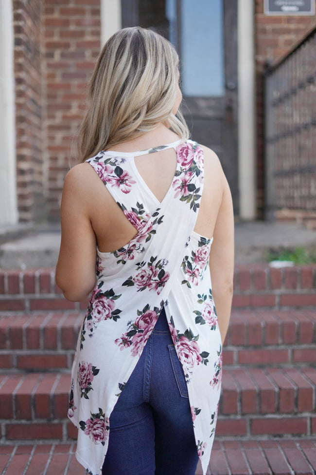 Alexandra Open Back Top