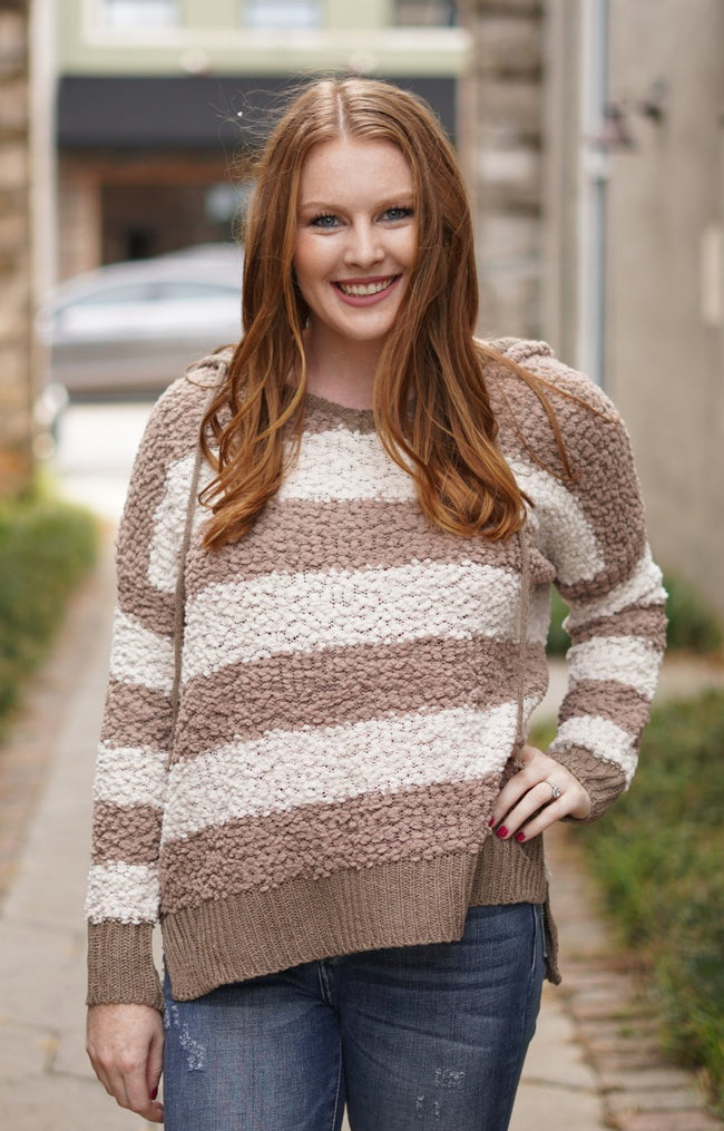 Live It Up Sweater - Mocha