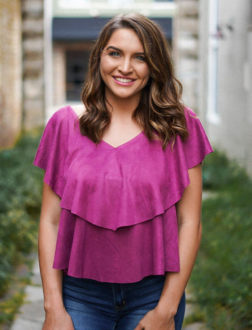 Paris Ruffled Top