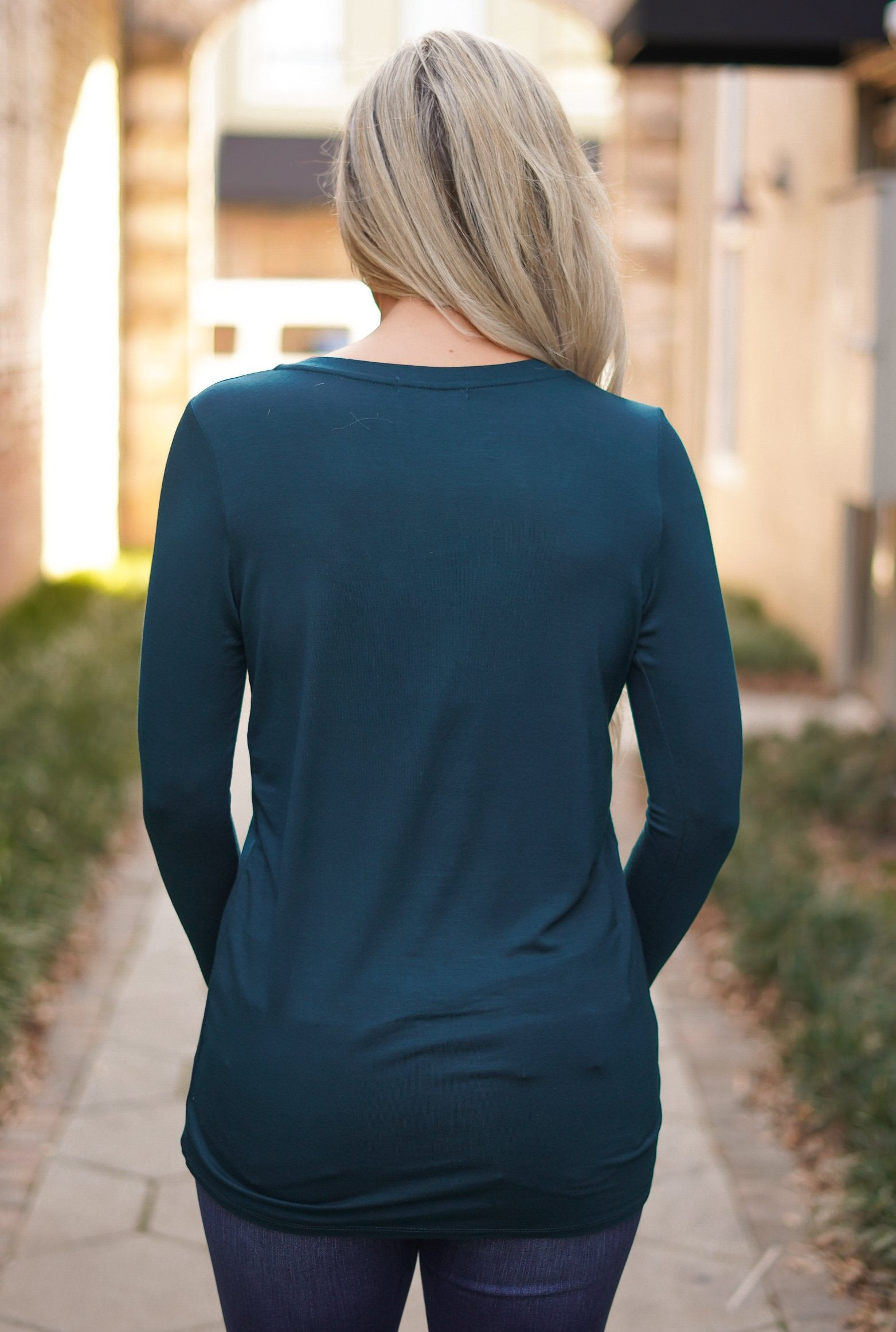 Undivided Attention Top - Teal