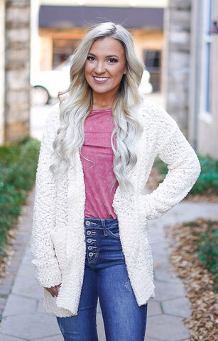 I Want S'More Cardigan - Black