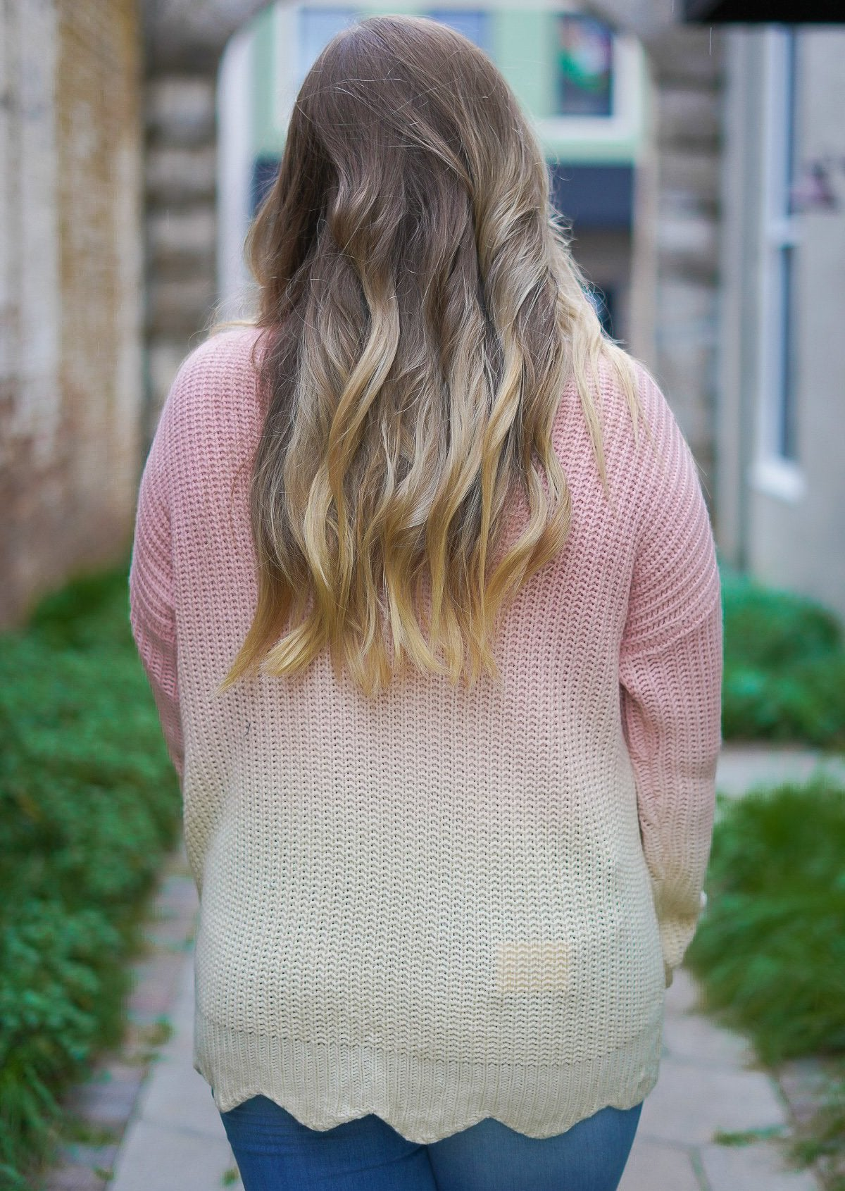 Peyton Ombre' Sweater
