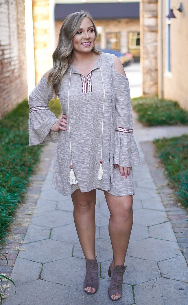 Kate Cold Shoulder Dress