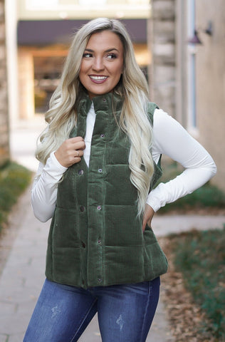 Long Distressed Denim Vest