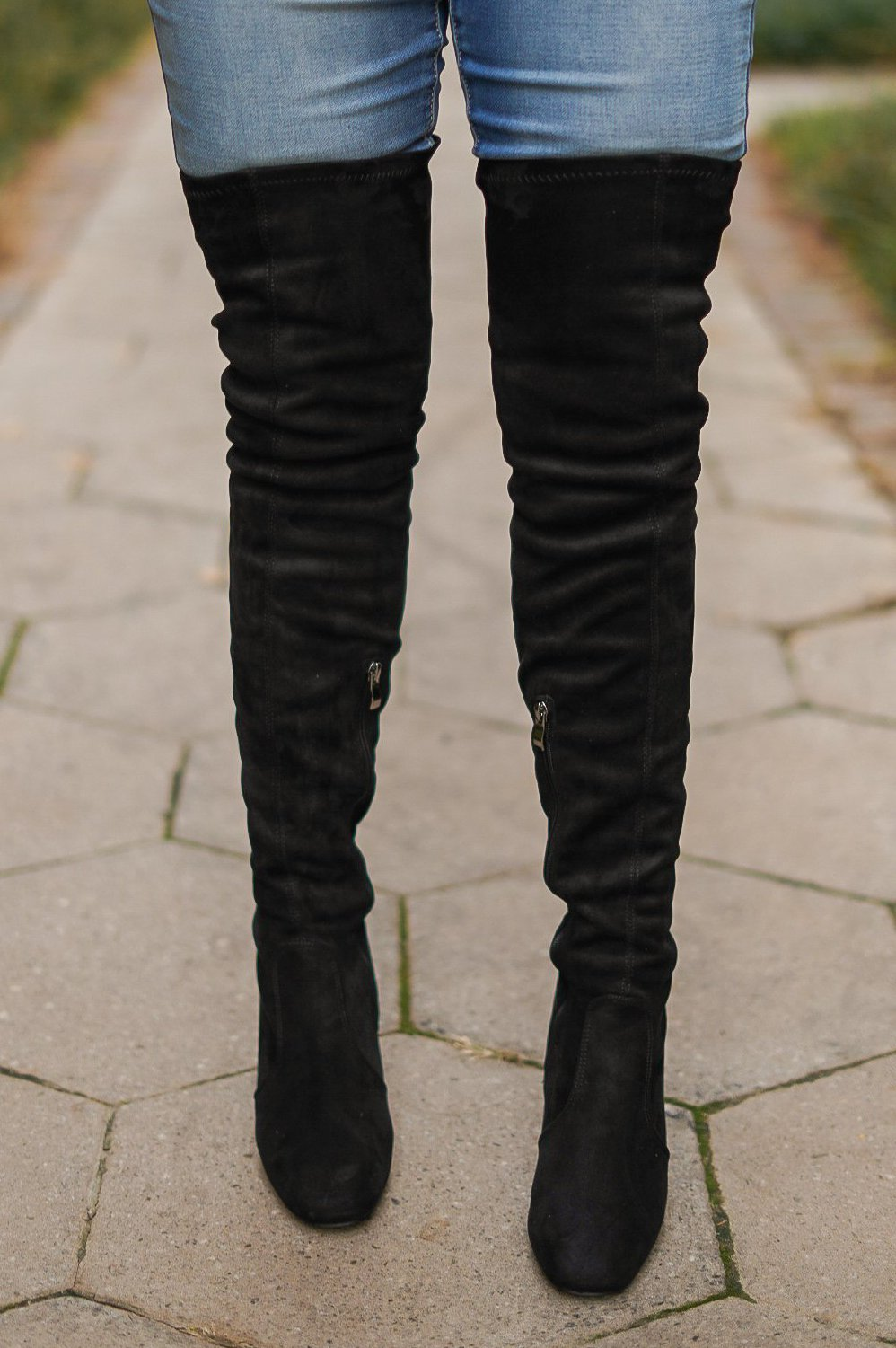 Take It From Me Thigh High Boots
