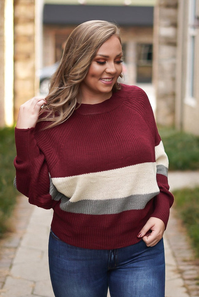 Have Mercy Dolman Sweater