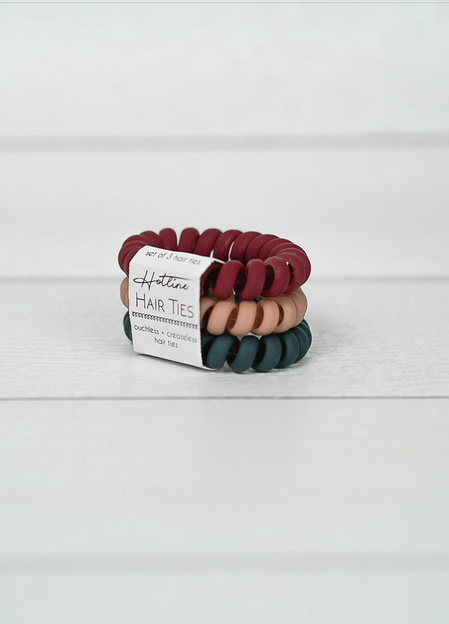 Got Your Back Hair Ties - Ivy League Matte Set