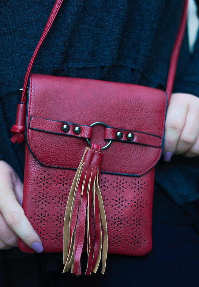 Make it Easy Mini Bag - Burgundy