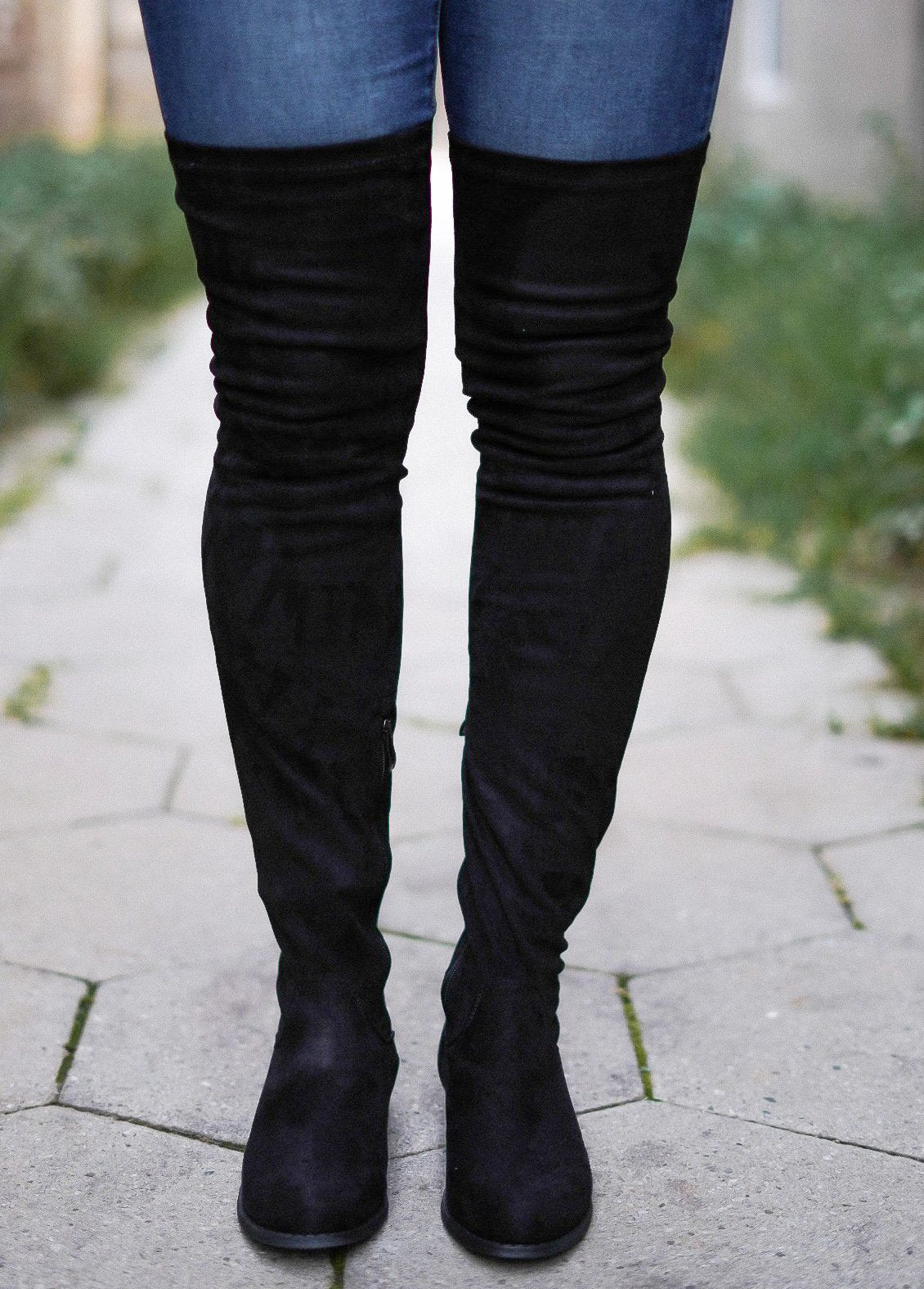 The Best of Me Thigh Highs - Black