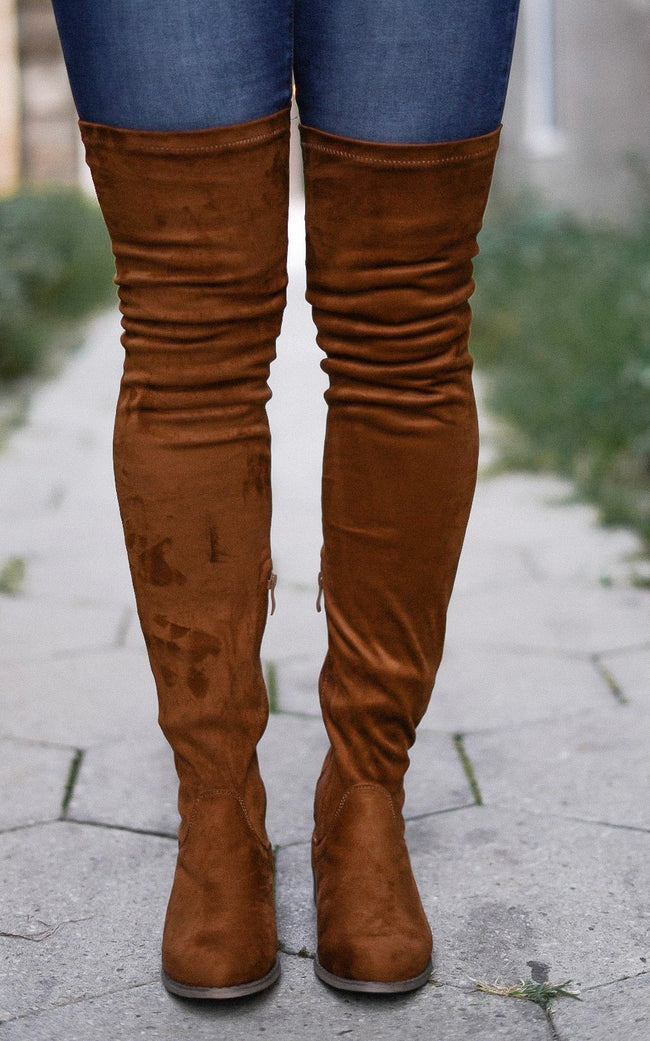 The Best of Me Thigh Highs - Camel