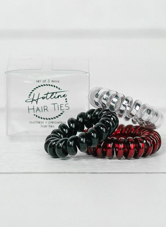 Got Your Back Hair Ties - Ladybug Mini Set