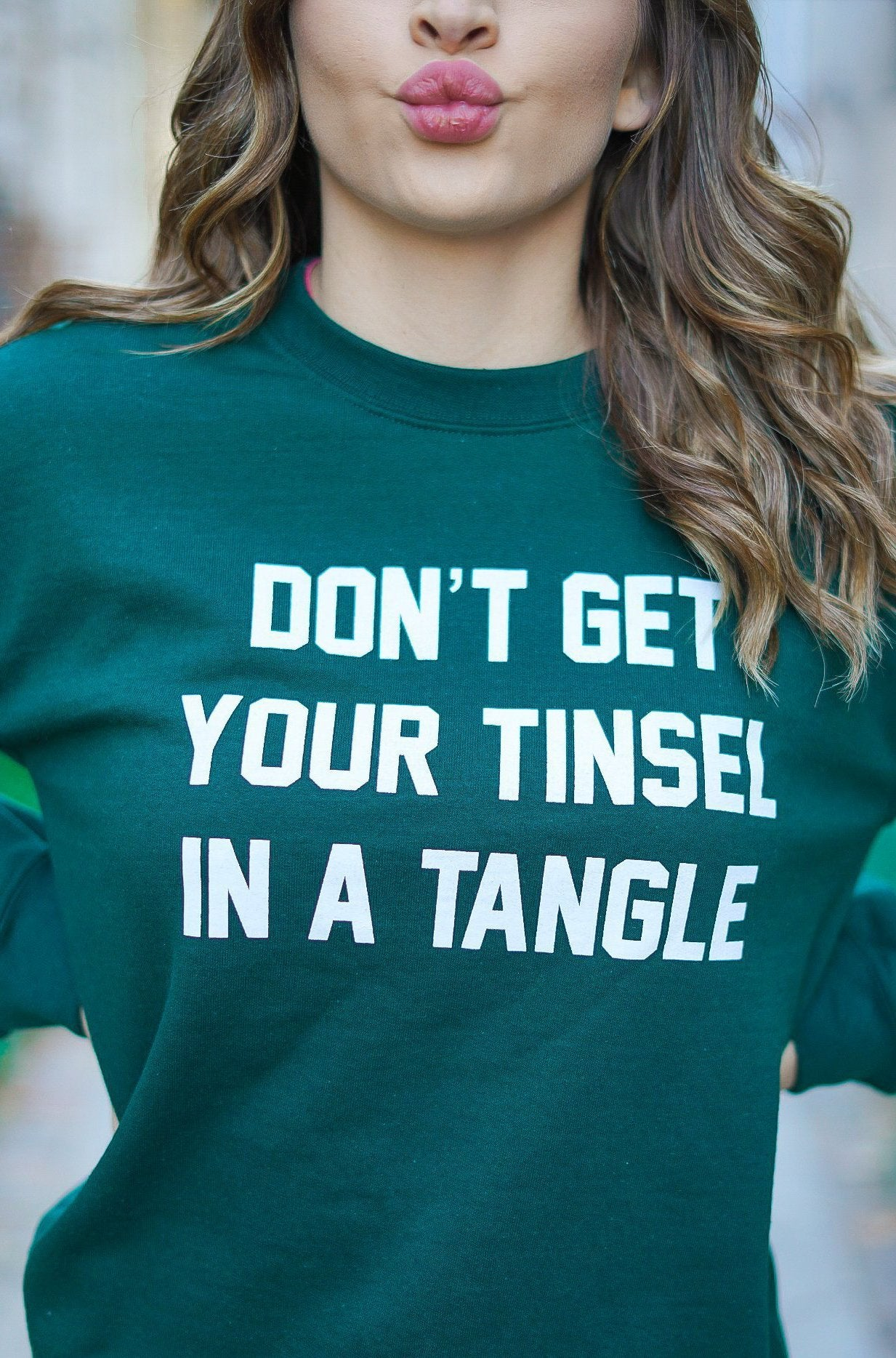 Tinsel in a Tangle Sweatshirt