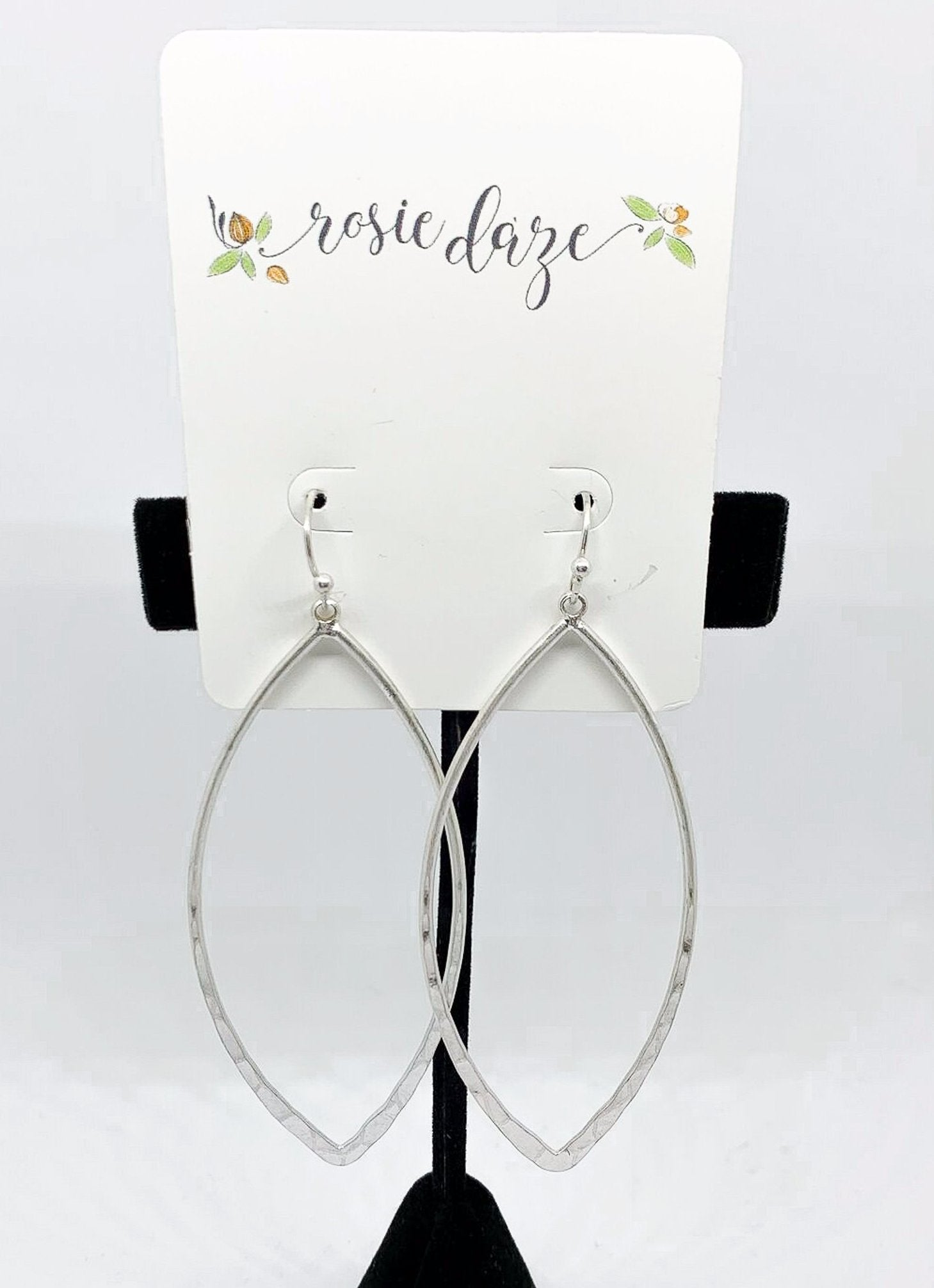 Hammertime Earrings - Silver