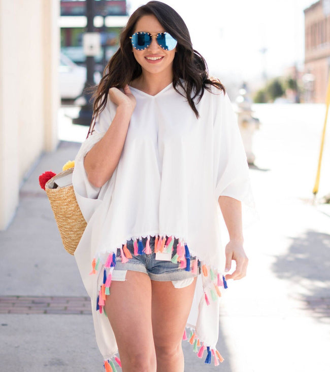 Summertime Poncho