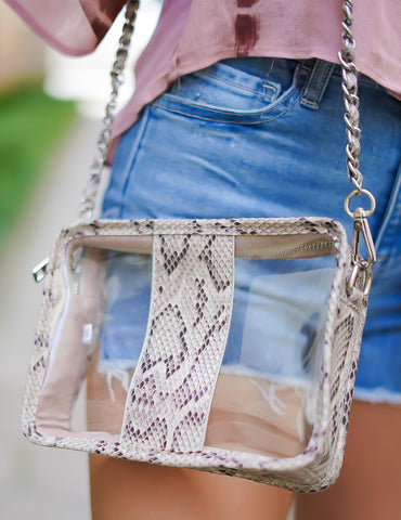 Championship Clear Camera Crossbody