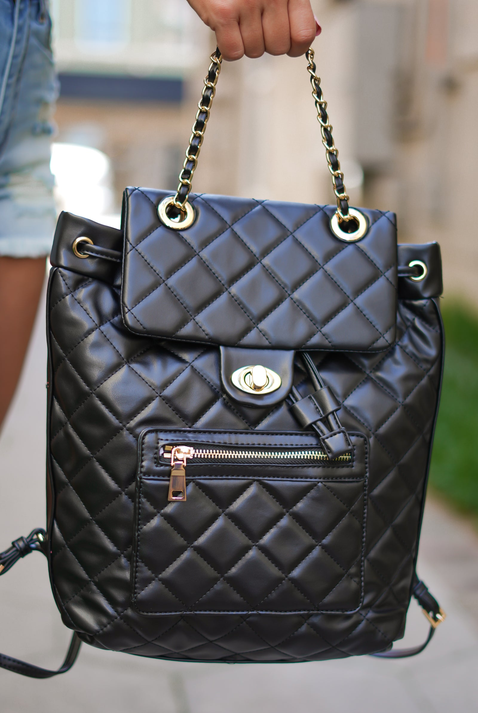 Monroe Quilted Backpack