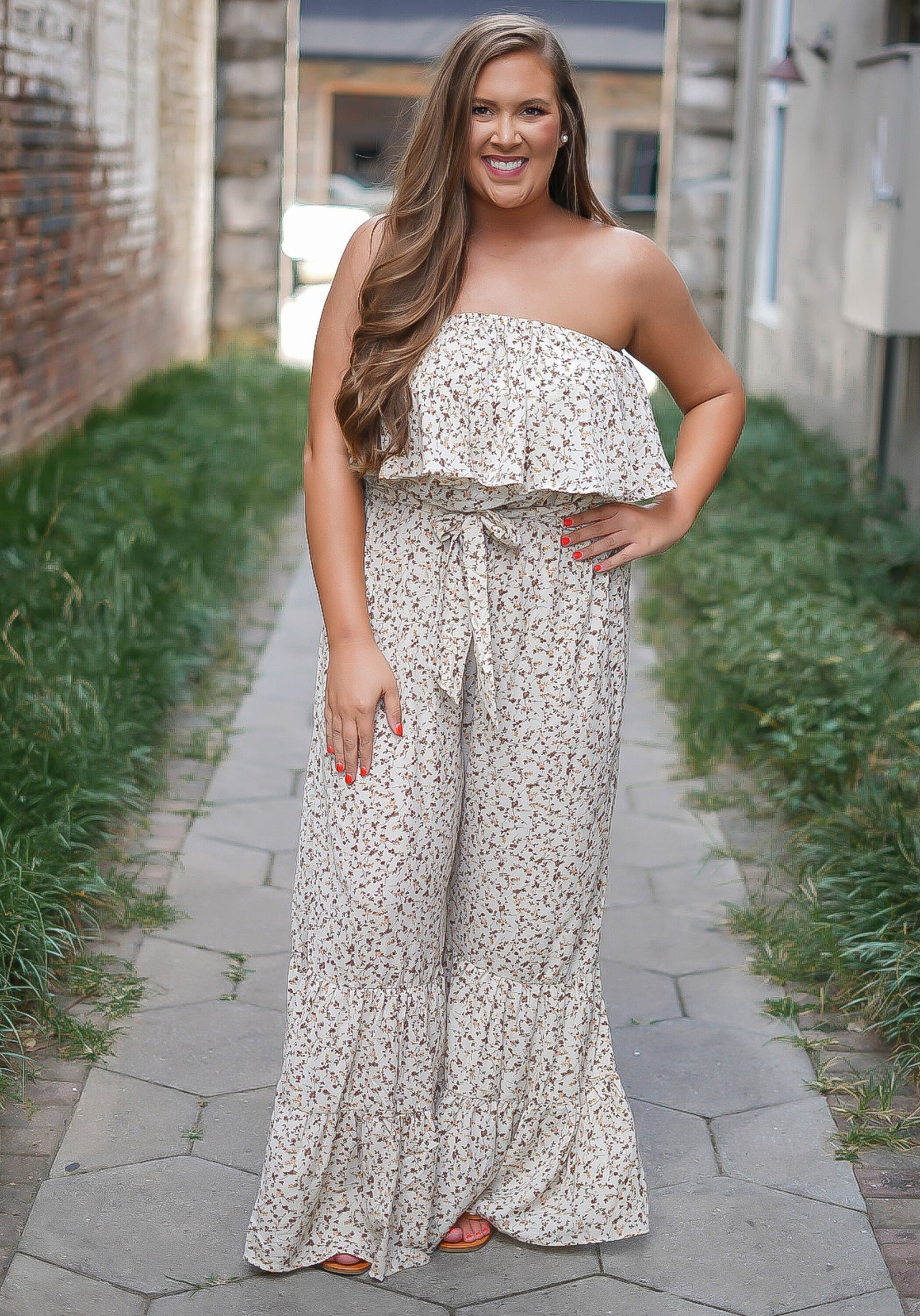 Finally Floral Jumpsuit