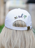 Rosie Daze Logo Hat - White
