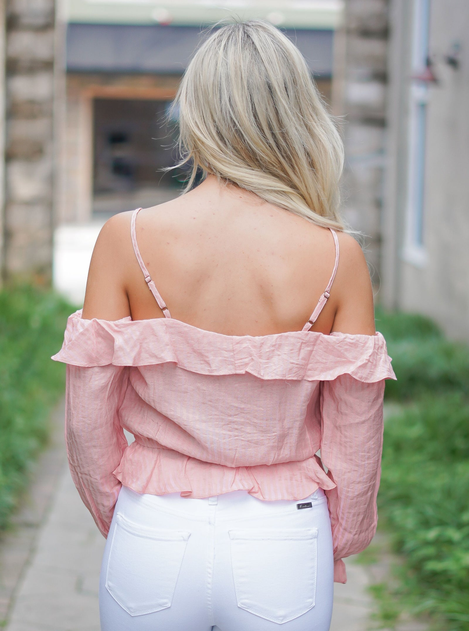 Havana Nights Top - Blush