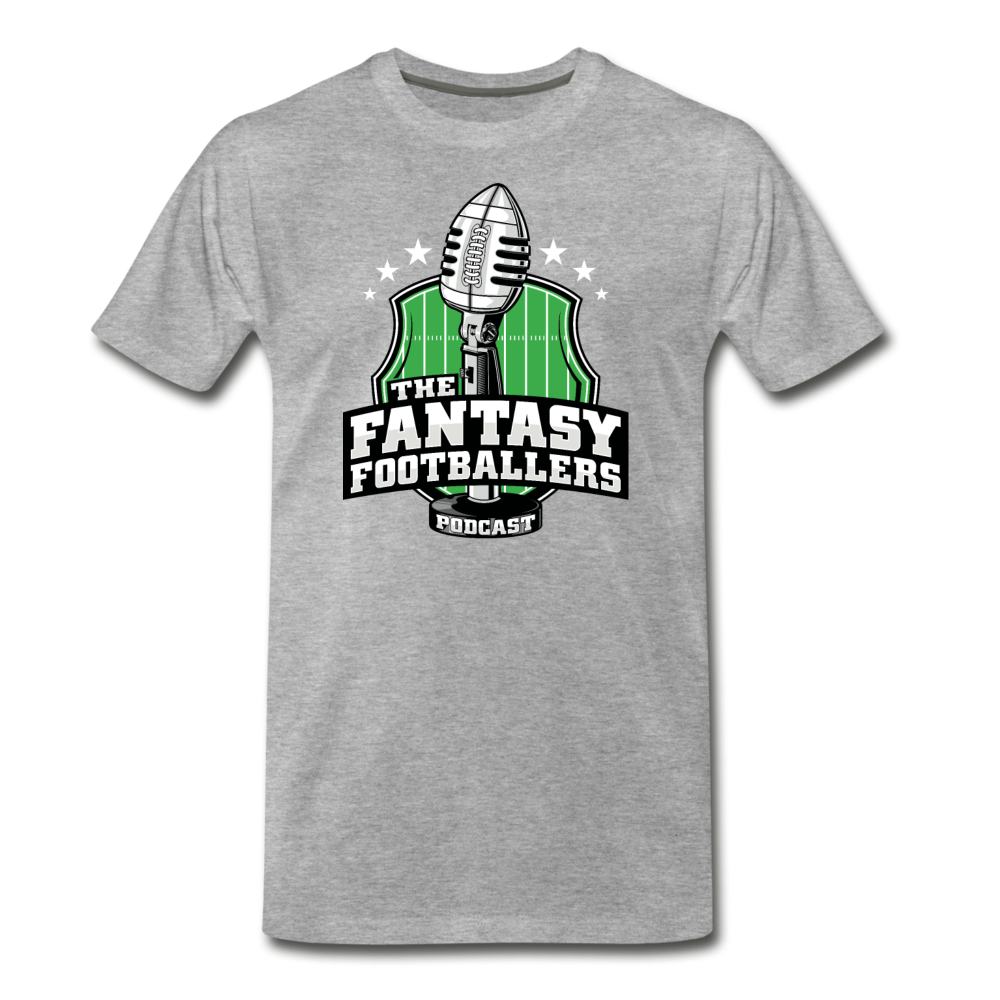 Footballers Tee - heather gray