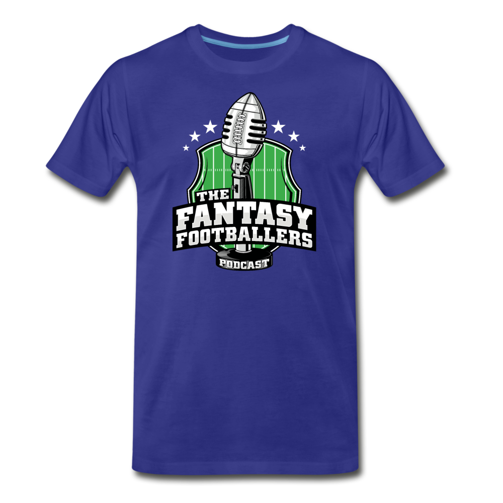 Footballers Tee - royal blue