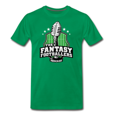 Footballers Tee - kelly green
