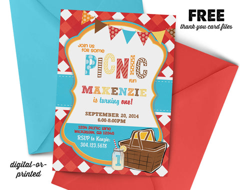 Birthday invitations for boys page 5 abbyreese design picnic birthday invitation park birthday party invitation picnic birthday party invitation printable filmwisefo Image collections