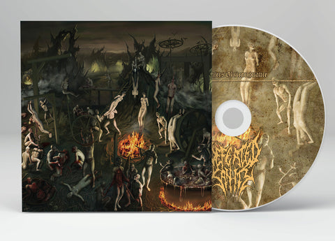 Defeated Sanity ‎– Chapters Of Repugnance  DIGIPACK CD