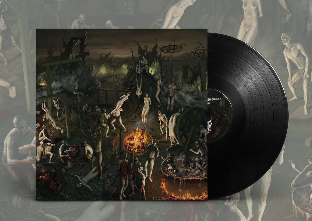 Defeated Sanity ‎– Chapters Of Repugnance (Deluxe Reissue) VINYL LP Black