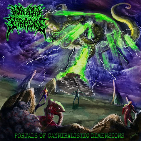 HORROR PARADISE | Portals of Cannibalistic Dimensions CD