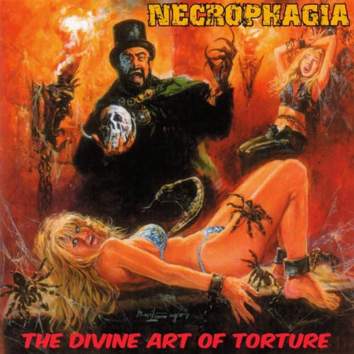 NECROPHAGIA | The Divine Art Of Torture CD